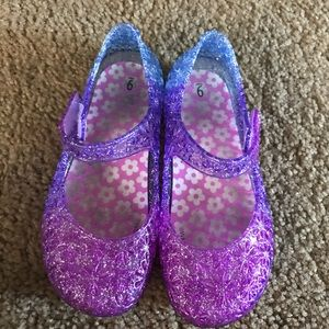 Other - Purple glitter jellies.